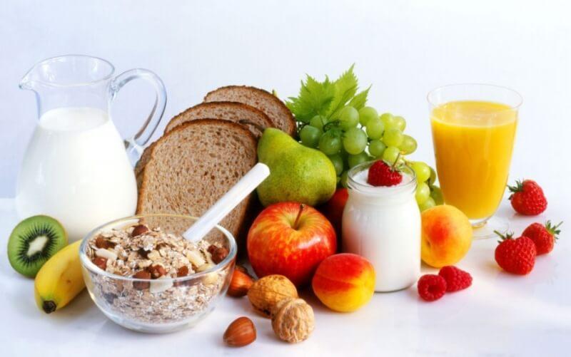 Пятый лечебный стол: продукты