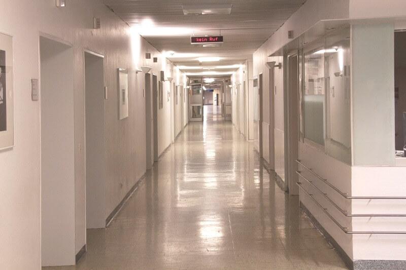 Типы лечебно-профилактических учреждений: больница