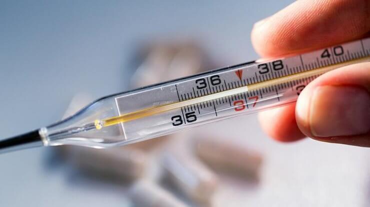 Измерение температуры тела в прямой кишке